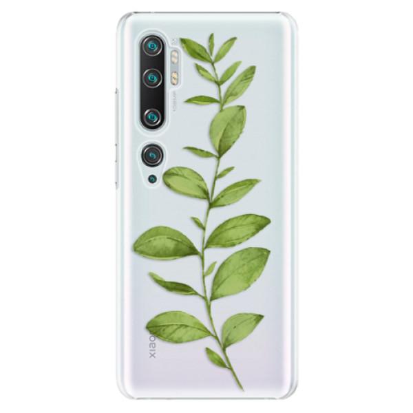Plastové pouzdro iSaprio - Green Plant 01 - Xiaomi Mi Note 10 / Note 10 Pro
