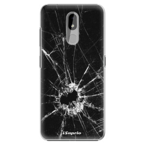 Plastové pouzdro iSaprio - Broken Glass 10 na mobil Nokia 3.2