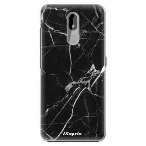 Plastové pouzdro iSaprio - Black Marble 18 na mobil Nokia 3.2