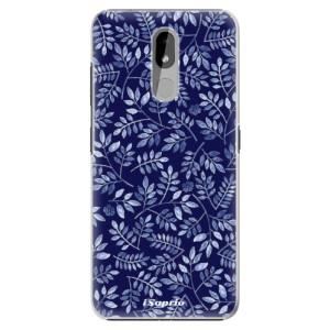 Plastové pouzdro iSaprio - Blue Leaves 05 na mobil Nokia 3.2