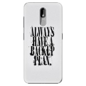 Plastové pouzdro iSaprio - Backup Plan na mobil Nokia 3.2
