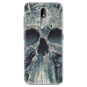 Plastové pouzdro iSaprio - Abstract Skull na mobil Nokia 3.2