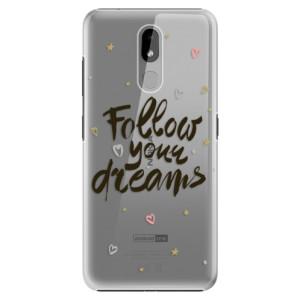 Plastové pouzdro iSaprio - Follow Your Dreams - black na mobil Nokia 3.2