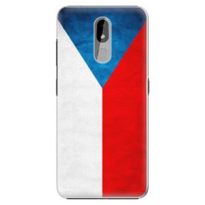 Plastové pouzdro iSaprio - Czech Flag na mobil Nokia 3.2