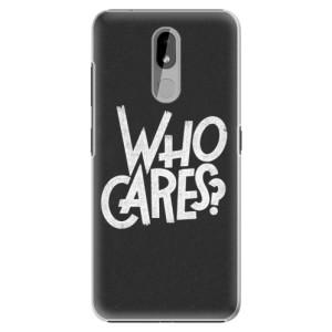 Plastové pouzdro iSaprio - Who Cares na mobil Nokia 3.2