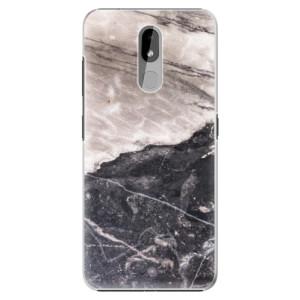 Plastové pouzdro iSaprio - BW Marble na mobil Nokia 3.2