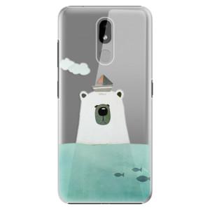 Plastové pouzdro iSaprio - Bear With Boat na mobil Nokia 3.2