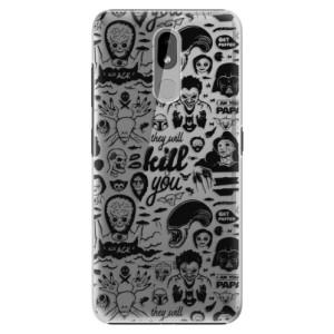Plastové pouzdro iSaprio - Comics 01 - black na mobil Nokia 3.2