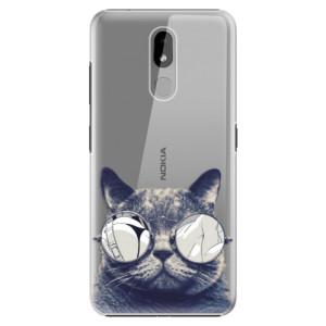 Plastové pouzdro iSaprio - Crazy Cat 01 na mobil Nokia 3.2