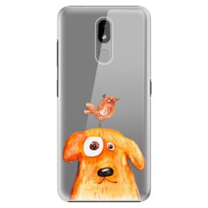 Plastové pouzdro iSaprio - Dog And Bird na mobil Nokia 3.2
