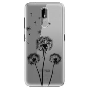 Plastové pouzdro iSaprio - Three Dandelions - black na mobil Nokia 3.2
