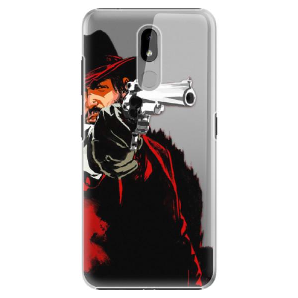 Plastové pouzdro iSaprio - Red Sheriff - Nokia 3.2