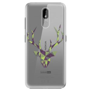 Plastové pouzdro iSaprio - Deer Green na mobil Nokia 3.2