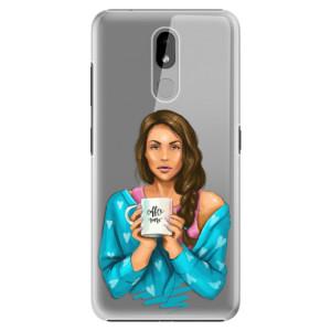 Plastové pouzdro iSaprio - Coffe Now - Brunette na mobil Nokia 3.2