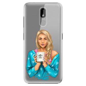 Plastové pouzdro iSaprio - Coffe Now - Blond na mobil Nokia 3.2