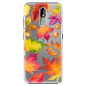Plastové pouzdro iSaprio - Autumn Leaves 01 na mobil Nokia 3.2