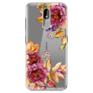 Plastové pouzdro iSaprio - Fall Flowers na mobil Nokia 3.2
