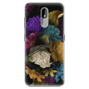 Plastové pouzdro iSaprio - Dark Flowers na mobil Nokia 3.2