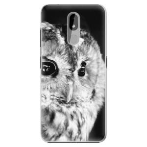 Plastové pouzdro iSaprio - BW Owl na mobil Nokia 3.2