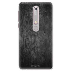 Plastové pouzdro iSaprio - Black Wood 13 na mobil Nokia 6.1