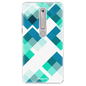 Plastové pouzdro iSaprio - Abstract Squares 11 na mobil Nokia 6.1