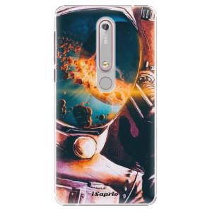 Plastové pouzdro iSaprio - Astronaut 01 na mobil Nokia 6.1