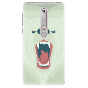 Plastové pouzdro iSaprio - Angry Bear na mobil Nokia 6.1