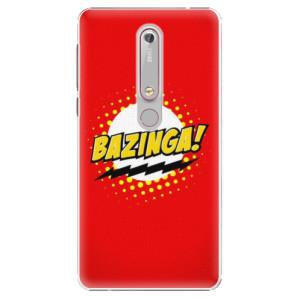 Plastové pouzdro iSaprio - Bazinga 01 na mobil Nokia 6.1