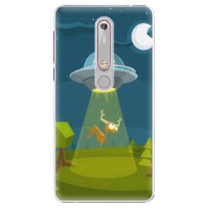 Plastové pouzdro iSaprio - Alien 01 na mobil Nokia 6.1