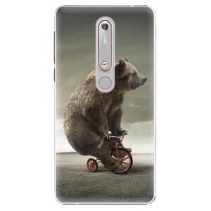 Plastové pouzdro iSaprio - Bear 01 na mobil Nokia 6.1