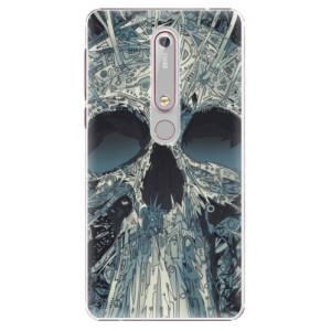 Plastové pouzdro iSaprio - Abstract Skull na mobil Nokia 6.1