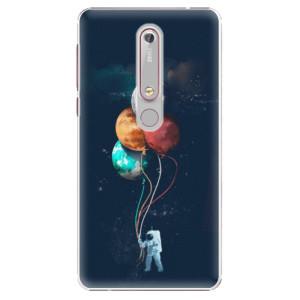 Plastové pouzdro iSaprio - Balloons 02 na mobil Nokia 6.1