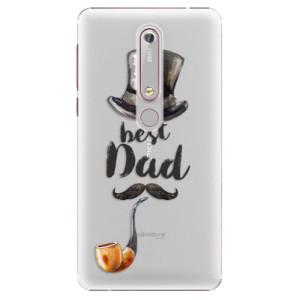 Plastové pouzdro iSaprio - Best Dad na mobil Nokia 6.1