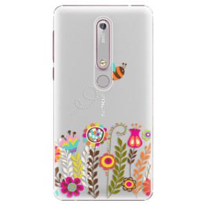 Plastové pouzdro iSaprio - Bee 01 na mobil Nokia 6.1