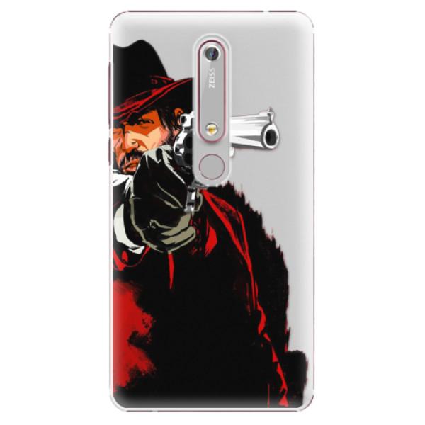 Plastové pouzdro iSaprio - Red Sheriff - Nokia 6.1
