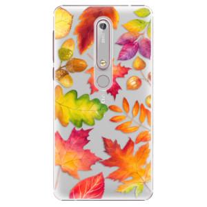 Plastové pouzdro iSaprio - Autumn Leaves 01 na mobil Nokia 6.1