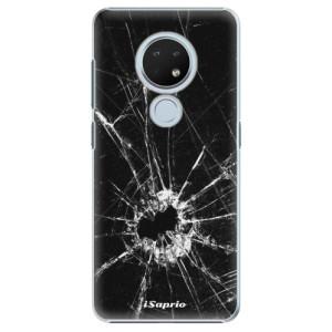 Plastové pouzdro iSaprio - Broken Glass 10 na mobil Nokia 6.2