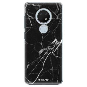 Plastové pouzdro iSaprio - Black Marble 18 na mobil Nokia 6.2