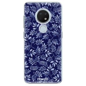 Plastové pouzdro iSaprio - Blue Leaves 05 na mobil Nokia 6.2