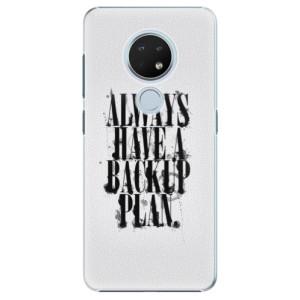 Plastové pouzdro iSaprio - Backup Plan na mobil Nokia 6.2