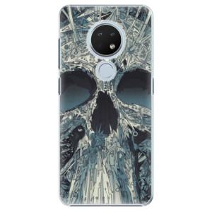 Plastové pouzdro iSaprio - Abstract Skull na mobil Nokia 6.2