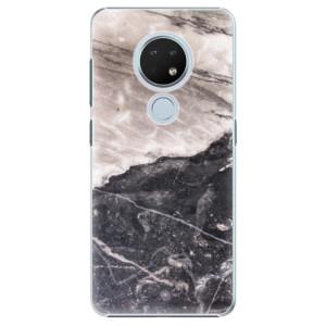Plastové pouzdro iSaprio - BW Marble na mobil Nokia 6.2