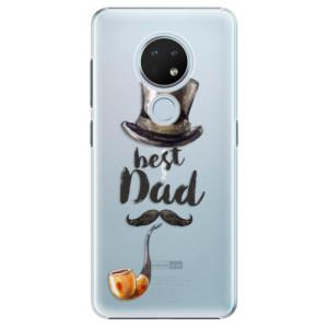 Plastové pouzdro iSaprio - Best Dad na mobil Nokia 6.2