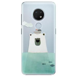 Plastové pouzdro iSaprio - Bear With Boat na mobil Nokia 6.2