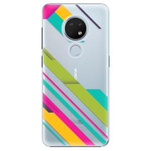 Plastové pouzdro iSaprio - Color Stripes 03 na mobil Nokia 6.2