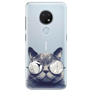 Plastové pouzdro iSaprio - Crazy Cat 01 na mobil Nokia 6.2