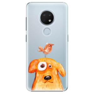 Plastové pouzdro iSaprio - Dog And Bird na mobil Nokia 6.2