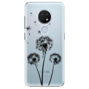 Plastové pouzdro iSaprio - Three Dandelions - black na mobil Nokia 6.2