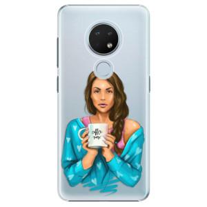 Plastové pouzdro iSaprio - Coffe Now - Brunette na mobil Nokia 6.2