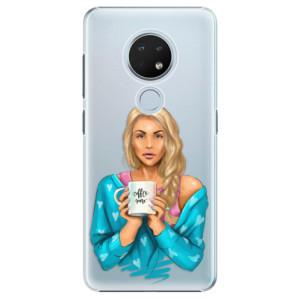 Plastové pouzdro iSaprio - Coffe Now - Blond na mobil Nokia 6.2